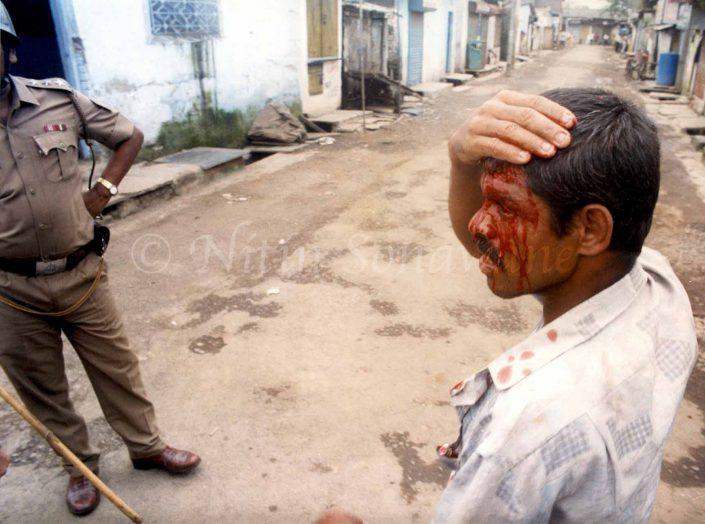 The 1997 Ramabai killings were a mass killing of Dalit residents of the Ramabai Ambedkar Nagar colony in Bombay